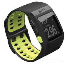 amazon com nike sportwatch gps powered by tomtom black volt nike sportwatch gps powered by tomtom