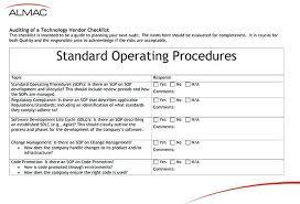 Sop Express Software Development Template Top Standard Operating ...
