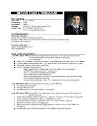Resume Sample Format For Job Application Gentileforda Com