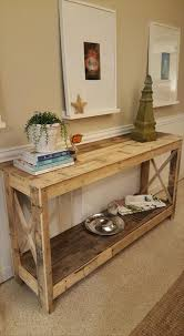 wood pallets furniture. pallet hallway console 125 awesome diy furniture ideas 101 wood pallets