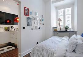 Small Box Bedroom Small Scandinavian Apartment Living Space Small Bedroom Interior