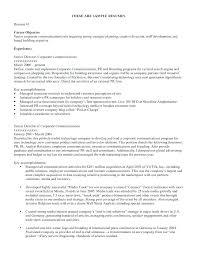 Resume Objective Wording Resume Samples For Jobs Megakravmaga Com