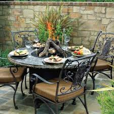 gorgeous round patio table and chairs precious ideas patio ideas outdoor dining table fire pit with