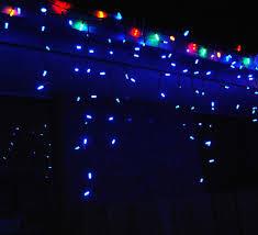 Led Christmas Blue Icicle Lights Led Christmas Lights Icicle Lights Led Light Strings