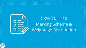 English Chart For Class 10 Cbse Class 10 Marking Scheme And Weightage Distribution 2019