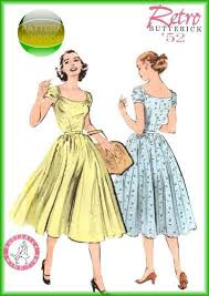 Retro Dress Patterns Best Pattern Kingdom Ladies Vintage Retro Costume Patterns
