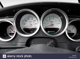 2005 Dodge Magnum SXT in Red - Speedometer/tachometer Stock Photo ...