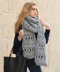 Crochet Scarf Patterns Bulky Yarn Interesting Crochet Super Simple Scarf Free Bulky Yarn Crochet Pattern