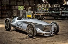 Infiniti prototype melds a 1940s race car with EV power