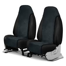 sheepskin charcoal semi custom insert seat covers
