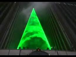 nu-salt laser light shows Christmas Tree Show