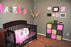 image of unique baby girl nursery ideas