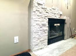 refacing ck fireplace with tile a stone veneer decoration reface diy brick makeover