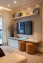 Small Picture 7 Best Ways to Decorate Around the TV Maria Killam Sarah