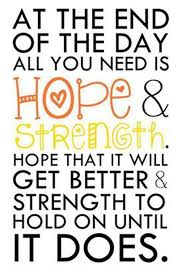 40 Inspirational Quotes Of Strength And Hope EnkiQuotes Amazing Quotes About Hope