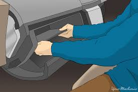 how to replace a door lock relay yourmechanic advice person removing the glove box