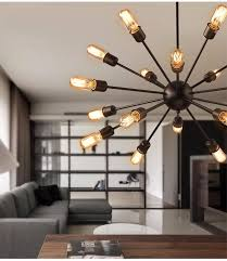 mordern nordic retro pendant light edison bulb lights fixtures re industriel iron loft antique diy e27