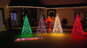 pre lit 6 fold flat outdoor tree by lori greiner with lisa robertson you