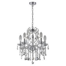 marquis by waterford annalee large 5 light chandelier bathroom ceiling light
