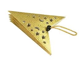 Weihnachtsstern Saphira Aus Papier Gold 40cm Sku 50790