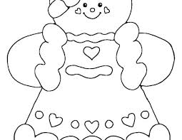 Awesome Gingerbread Man Coloring Book Or Gingerbread Man Coloring