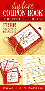 Homemade Coupons For Boyfriend Template Love Book Gift