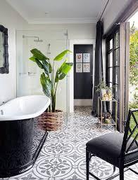 black and white tile floor. Black-and-white-bathroom-ideas 9 Black And White Tile Floor F