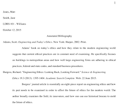 Annotated Bibliography Form 3 Ways To Write An Annotated