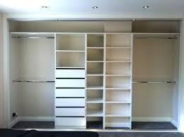 Closet Inspiration Use IKEAu0027s Billy Bookcase To Mimic Custom Ikea Closet Organizer Hack