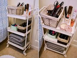 How To Organize Your Apartment Bathroom Via Bymandygirl Spring