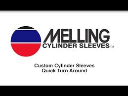 Melling Cylinder Sleeve Chart Cylinder Sleeves Melling