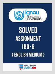 ignou ibo international business finance solved assignment  ibo6 international business finance ignou solved assignment 2018 english medium