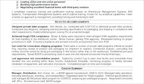 Logistics Coordinator Cv Sample Manager Supply Chain Resume 3 1 ...
