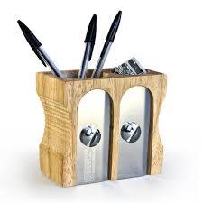 uk double sharpener desk tidy