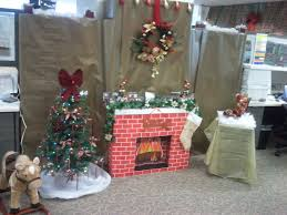 Christmas decoration for office Elf Christmas Decorations At Office With Tacky New House Designs Fashionizm Christmas Decorations At Office Home Design Decorating Ideas