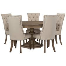 had light tone round table 4 upholstered chairs dining with that fit underneath 2c66c284574db938d2c0a5c78d4 round dining