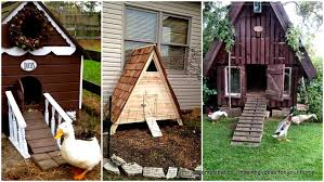43 diy duck houses plans and duck coop plans to build now