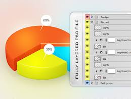 Photoshop Chart Template Free Pie Chart Psd Template Free Psd Files