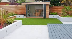 Small Picture Modern small garden Contemporary Garden Shed and Building
