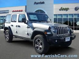 2018 jeep wrangler unlimited sport s 4 door 3 6l 6 cylinder engine automatic 4x4