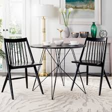 h spindle dining chair set of 2