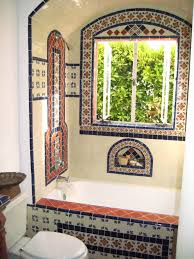 Mexican Tile Kitchen Bathroom Shower Using Mexican Tiles By Kristiblackdesignscom