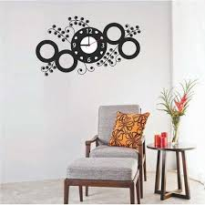 Small Picture Designer Sticker Wall Clock at Rs 200 piece Wall Stickers ID