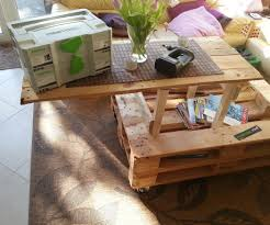Instructables Coffee Table Pallet Coffee Table With Heavy Lift