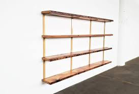wall mounted shelving unit 4 shelf