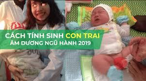 3 cách tính tuổi sinh con trai theo thuyết âm dương chuẩn nhất 2019 - Sắc  tố an