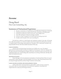 Entry Level Urban Planner Resume Sales Planner Lewesmr