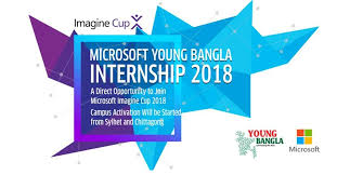 Microsoft Young Bangla Internship 2018 Bangladesh