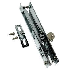 broken slider lock repair sliding screen door