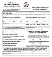 texas workers compensation insurance waiver form raipurnews